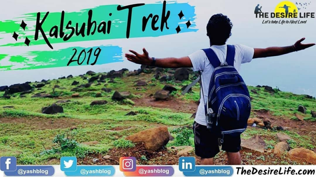 Kalsubai Trek – One Day Trek – Everest of Maharastra – Highest Peak of Maharastra – By @YASHBLOG